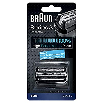 Braun 32B Replacement Foil Multi Silver BLS Cassette by Procter & Gamble