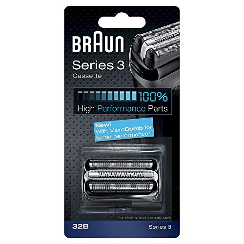 Price comparison product image Braun 32B Replacement Foil And Bls Multi Cutter Cassette Black