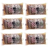 Pack 6 x 200 g Shirataki Japoneses KONJAC KURO con alga hijiki (6kcal por 100g)