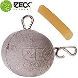Zeck Heavy Stone Snap Fireball - Beton Fireballjig zum Vertikalangeln auf Waller, Gewichte zum...