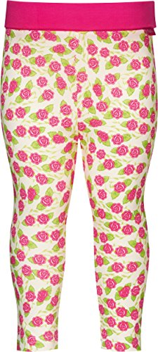 Playshoes Mädchen Legging Baby Blumen, Gr. 86 (Herstellergröße: 86/92), Mehrfarbig (original 900)