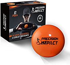 Precision Impact Slugs: Heavy Weighted 15oz Baseballs for Hitting; with 1-Year Warranty (6-Pack)