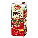 [Amazon限定ブランド] デルモンテ SOLANO 食塩無添加トマトジュース 200ml×24本