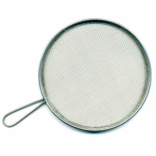 Meyco Spritzsieb, rund Ø 12 cm Malsieb aus Metall Reinigung Reinigungssieb Effekt
