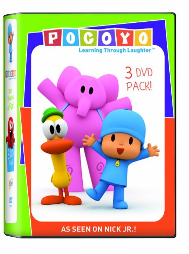 Pocoyo: Pocoyo 3pack Super/Party/Dance [DVD] [Region 1] [NTSC] [US Import]