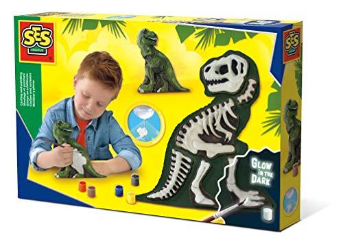 SES Gips Gieten En Schilderen T-Rex Met Skelet