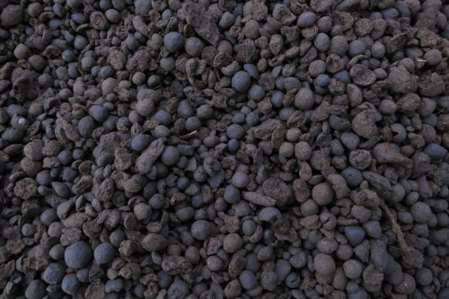 Schwarztorfgranulat, Torfgranulat, 3,5-8,0 mm, 10 l, incl. Filternetz (EUR 3,79 je Liter), geeignet für Aquarium und Teich