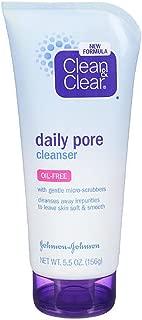Clean & Clear Daily Pore Cleanser , 5.5 oz