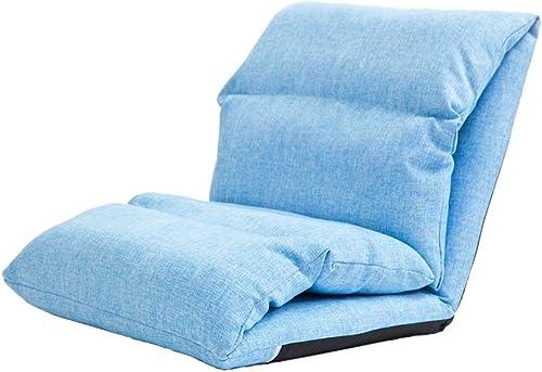 MDBLYJ Lazy Sofa, Lange Faltbare abnehmbare und waschbare Freizeit Fenster Stuhl Stoff Stuhl Bay Fenstersessel, (Farbe   C)