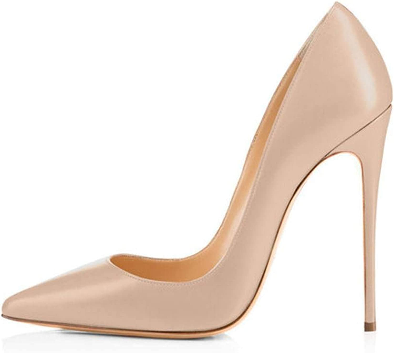 Lin-House Women shoes Thin High Heel Stilettos Pointed Toe Patent Leather shoes,H161203,12
