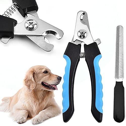CYWVYNYT Högkvalitativ klosax för hundar – stor – klotång hund av rostfritt stål – bästa kvalitet – klovård för hundar