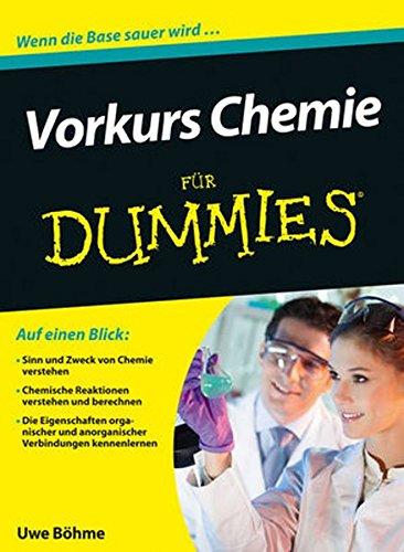 Vorkurs Chemie für Dummies