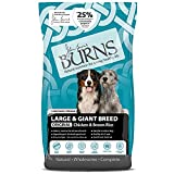 Burns Pet Nutrition Hypoallergenic Complete Dry Dog Food Adult and Senior Dog Large/Giant Breed Chicken 12 kg