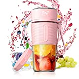 Personal Blender for Shakes and Smoothies, 17.6oz Portable Blender with BPA-Free, Personal Size...
