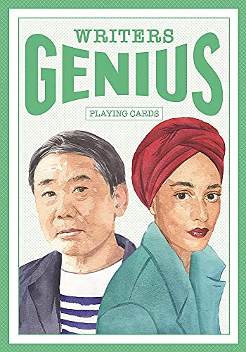Genius Writers (Genius Playing Cards): (52 Playing Cards, Standard Playing Card Deck, Traditional Cards with Suits)