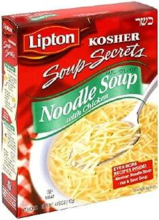 Lipton Kosher Soup Secrets Noodle Soup, 4.09-Ounce (Pack of 12)