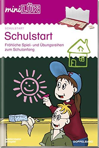 miniLÜK: Schulstart Doppelband: Fröhliche Spiel- und Übungsreihen zum Schulanfang: Schulstart / 1. Klasse - Mathematik, Deutsch: Schulstart (Doppelband)