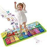 onozio Alfombra de Piano,Alfombra Musical de Teclado para Bebé, Alfombra Piano de Animales para Niños y Niñas de 1 a 6 Años