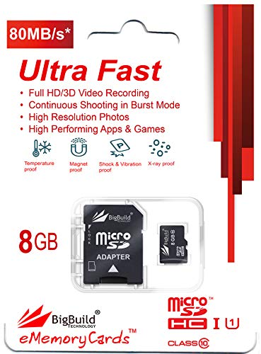 16GB MicroSD Memory card for GOCLEVER Extreme Pro 4K Plus Action Camera