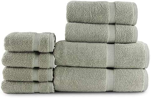 Luxury Hotel Quality Set of - Towels Overseas parallel import regular item Towe Sales 8 Cotton