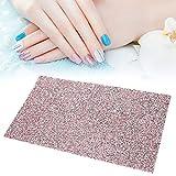 Alfombrilla de manicura, Alfombra de Mesa de Arte de Uñas de Decoración de Diamantes Soporte de Reposamanos Nail Art Mano Almohadilla para Manicura Plegable Suministros de Manicura(#1)