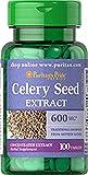 Extracto de Semillas de Apio - 100 Píldoras de 600 mg - Para la Artritis y la Ansiedad