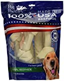 Pet Factory 78206 Made in USA Value Pack 8-9' Rawhide Chews for Dogs 6 Pack