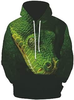 Men's Autumn Fashion Tops 3D Printing Hoodie Loose Long Sleeve Sweatshirt