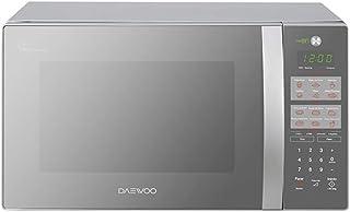 Daewoo KOR-1N3HMM Horno de Microondas, Plata, color, Plata, pack of/paquete de 1