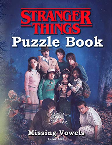 Stranger Things Puzzle Book: A Book With Plenty Of Many Game