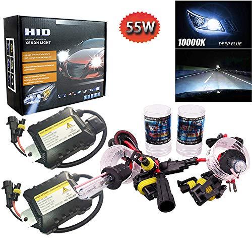 PolarLander 1 Paire CANBUS HID Xenon Kits De Voiture Phare Slim Ballast Xénon Ampoule Ballast Conversion H3 Température de Couleur 10000 K