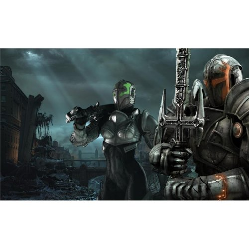 Monty Arts Hellgate London Poster by Silk Printing # Size About (98cm x 60cm, 39inch x 24inch) # Unique Gift # E98224