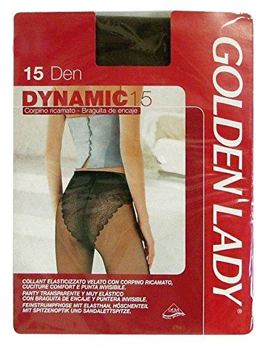 Glooke Selected Dynamic Set 10 Dynamic Collants 15 DEN Marron Castor Taille II 36B