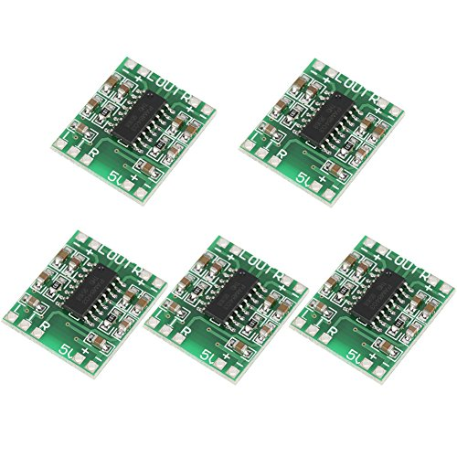 Módulo de amplificador de potencia de audio 2.5V-5.5V 3W + 3W Tipo D...