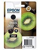 Epson Original Cartuchos de Tinta 202 XL, Válido para EPSON Expression Premium XP-6000 / XP-6005 / XP-6100 / XP-6105, Color Negro, Ya disponible en Amazon Dash Replenishment