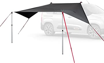 Qeedo Motor Tarp canopy luifel met UV-bescherming (UV80) & Dark-Coating - Past op: campers, caravans, luifels, piping of z...