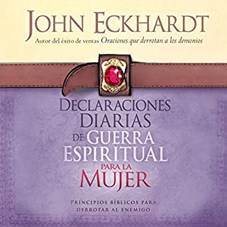 Declaraciones Diarias de Guerra Espiritual Para la Mujer [Daily Statements of Spiritual Warfare for Women] audiobook cover art