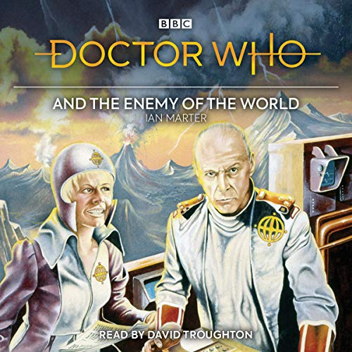 Doctor Who and the Enemy of the World audiobook cover art
