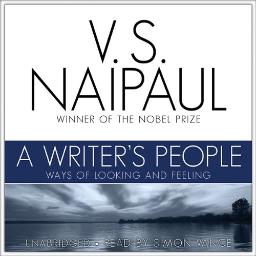 A Writer's People audiobook cover art
