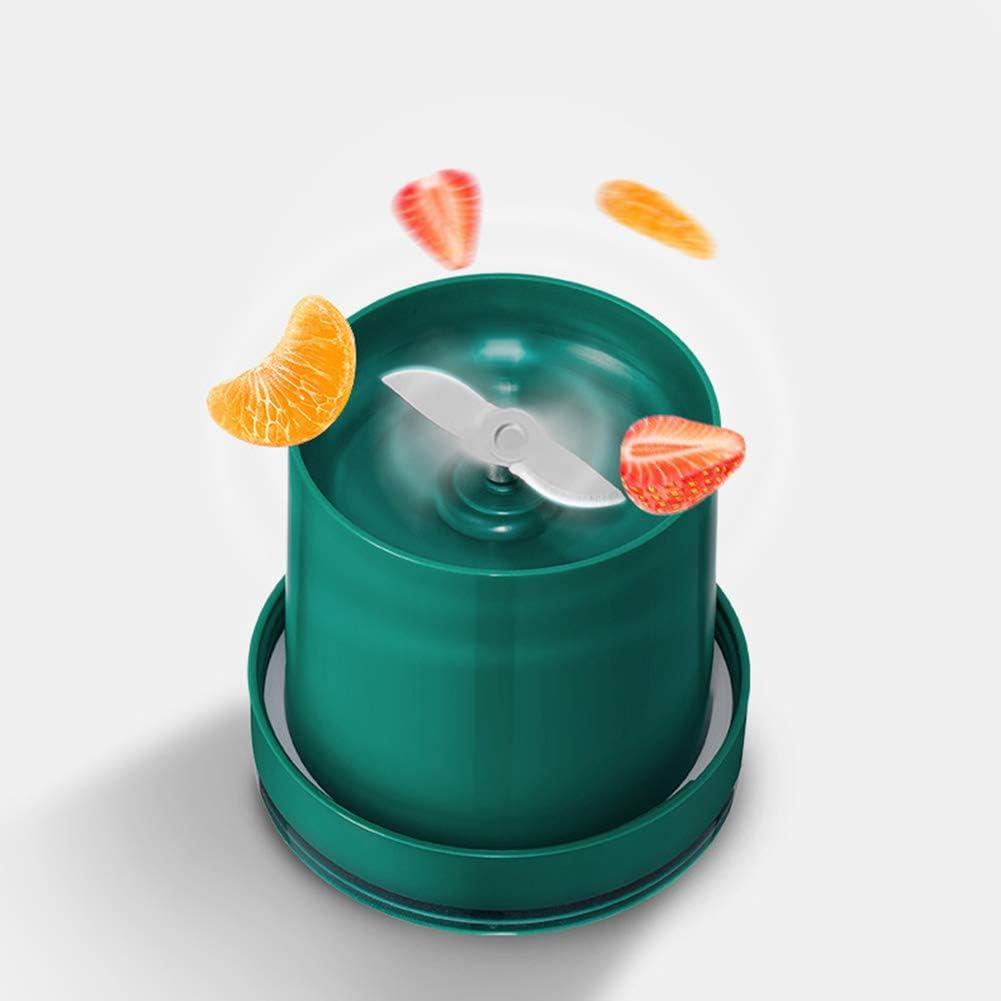 Mélangeur Personnel Portable Blenders Mélangeur De Fruits Électrique Mixeur De Jus USB Rechargeable 2 Lames en 3D pour Un Superbe Mélange sans BPA 400 ML,Bleu Bronze