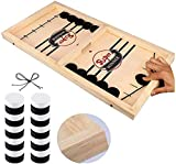 Fast Sling Puck Game, Table Desktop Battle Ice Hockey Game/Winner Board Chess Games for Adults and Kids...
