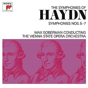Haydn: Symphonies Nos. 5-7