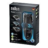 Braun MG 5050 - Afeitadora eléctrica multifunción con tecnología Wet & Dry