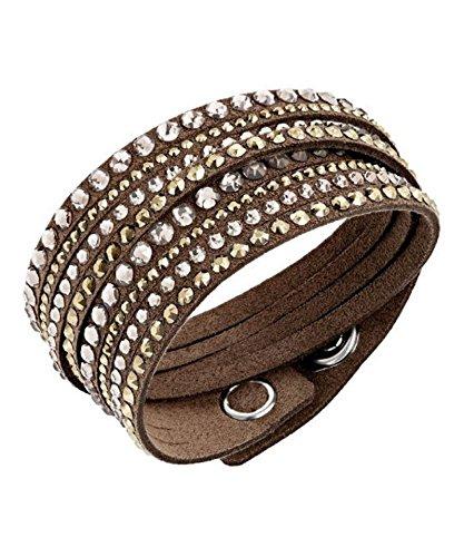 SWAROVSKI - Slake Armband SWAROVSKI BROWN DELUXE 5141349