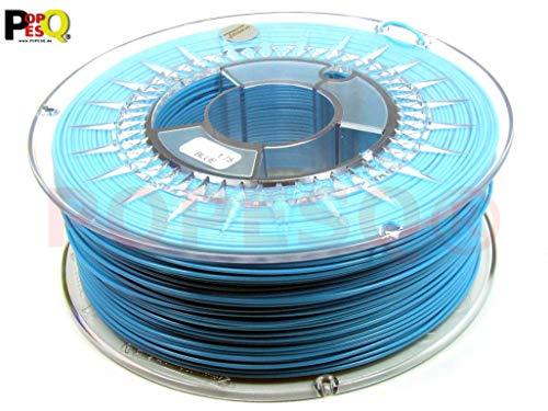 POPESQ® 1 Kg x Premium Filament 3D Printer PLA 1.75mm Blauw Azure #A3080
