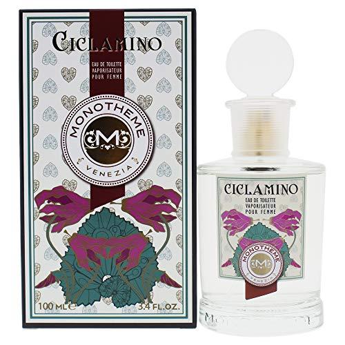 Monotheme Fine Fragrances Venezia Classic Collection Ciclamino 100Ml Spray Eau De Cyclamen Pour Femme