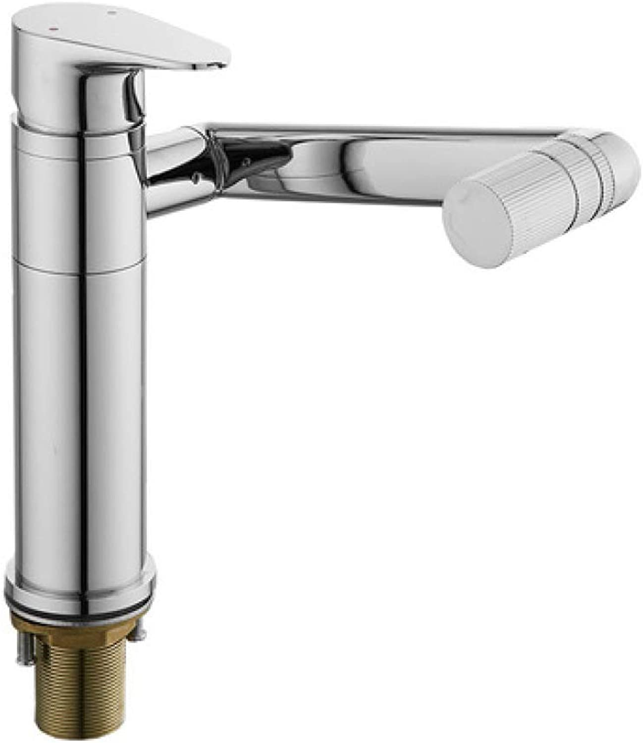 PYIP Water Filter Taps Copper Hot And Cold Basin Heightening redatable Bathroom Toilet Sink Basin Faucet Seat Diameter  3.2Cm