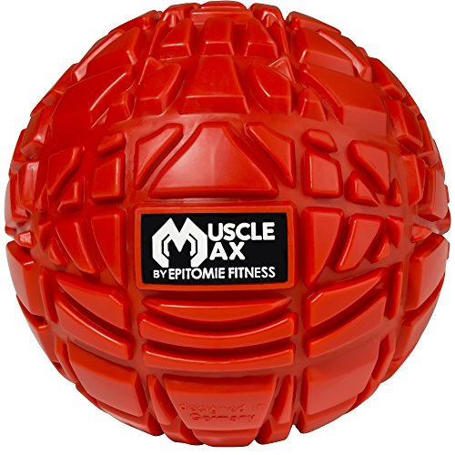 Muscle Max Massage Ball - Therapy Ball for Trigger Point Massage - Deep Tissue Massager for Myofascial Release - Mobility Ball for Exercise & Recovery