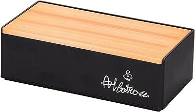 カノー ティッシュケース ブラック サイズ:26.4×13×8.7cm