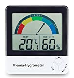 ETI Ltd Healthy living thermometer & hygrometer with comfort zone indication